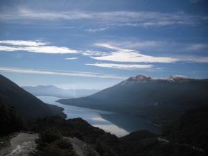 Afternoon, lagos Tierra del Fuego