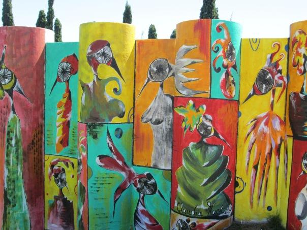 2013 mural series. Colonia