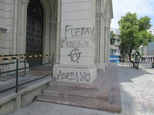 Protesting Monsanto. San Telmo