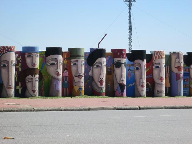 2013 stadium mural. Colonia